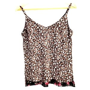 White House Black Market Reversible Print Cami